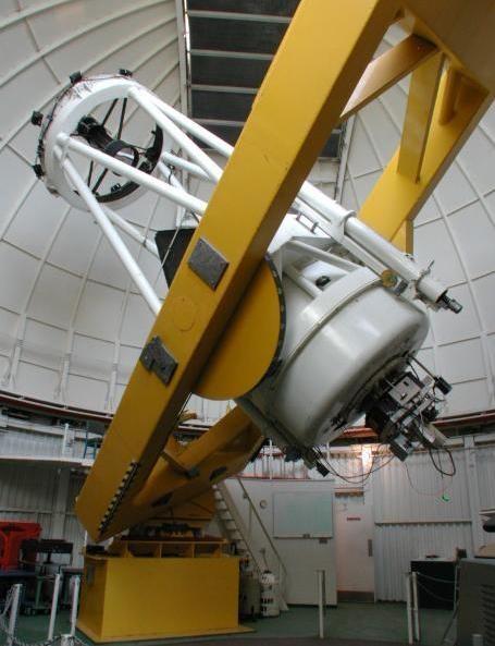 LCOGT Steward Observatory 61 inch Kuiper Telescope interior
