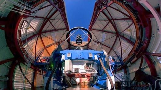 Magellan 6.5 meter Interior