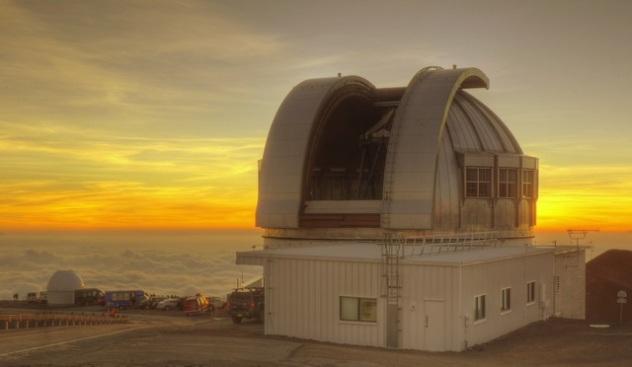 United Kingdom Infrared Telescope Exterior