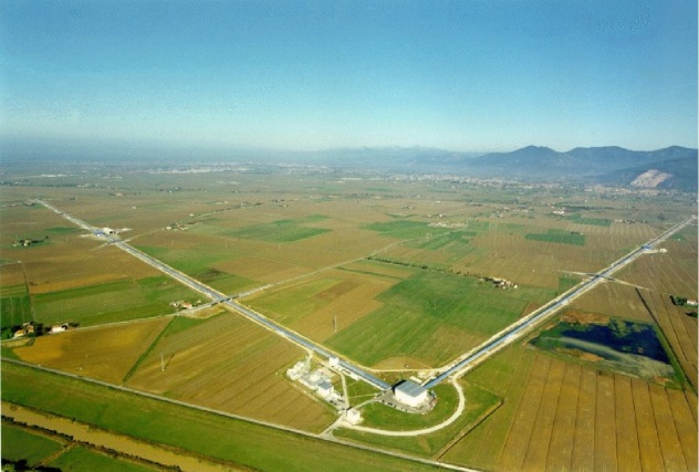 VIRGO Gravitational Wave interferometer, near Pisa, Italy