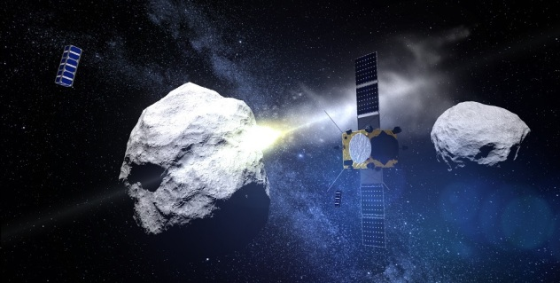 ESA AIM Asteroid Impact Mission