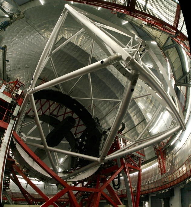 Gran Telescopio Canaries interior