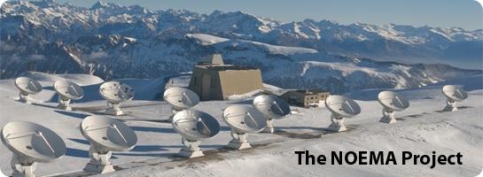 IRAM NOEMA interferometer