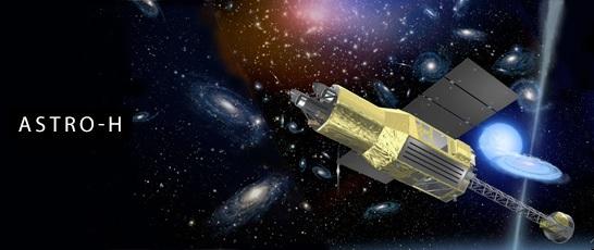 JAXA ASTRO-H telescope