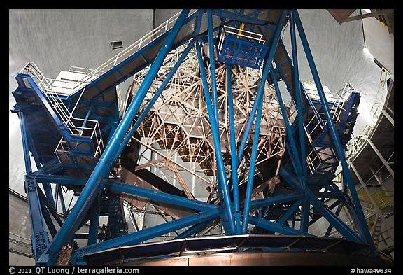 Keck Observatory Interior