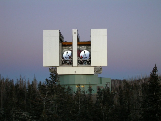 Large Binocular Telescope,  Mount Graham,  Arizona, USA