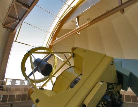 Las Campanas Dupont telescope interior