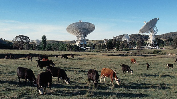 NASA Deep Space Network Canberra, Australia