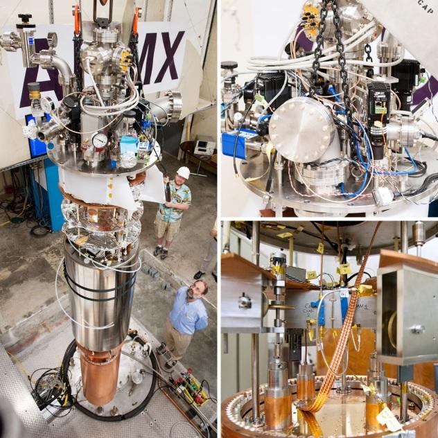 U Washington ADMX Axion Dark Matter Experiment