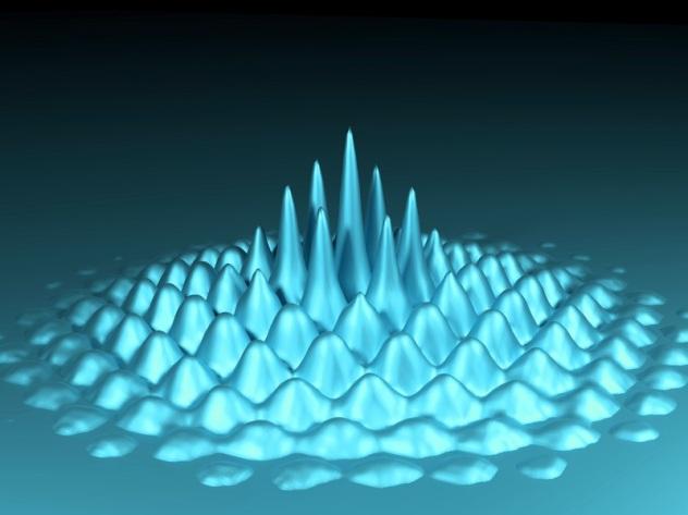 Bose-Einstein-condensates making waves a many-particle phenomenon