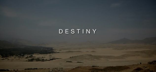 Destiny The Arrow of Time