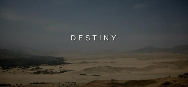 Destiny The Arrow of Time