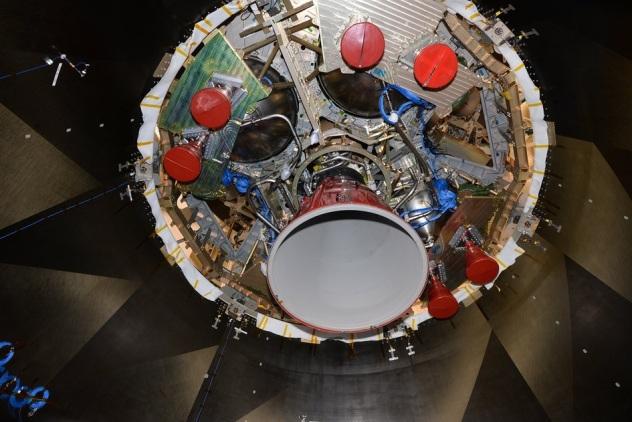 ESA Rockets belly