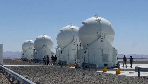 ESO VLT 1.8 meter auxiliary telescopes