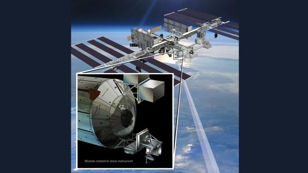 NASA JPL Caltech Rapidscat