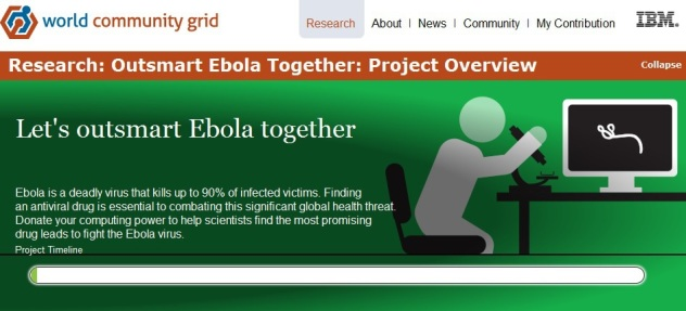Outsmart Ebola Together