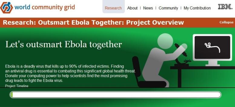 Outsmart Ebola Together