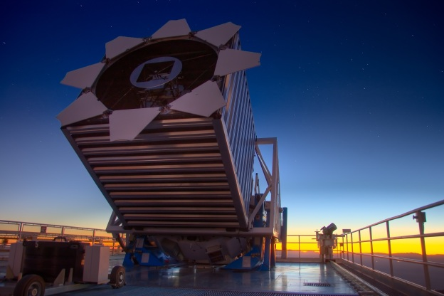 SDSS Telescope at Apache Point Observatory, near Sunspot NM, USA
