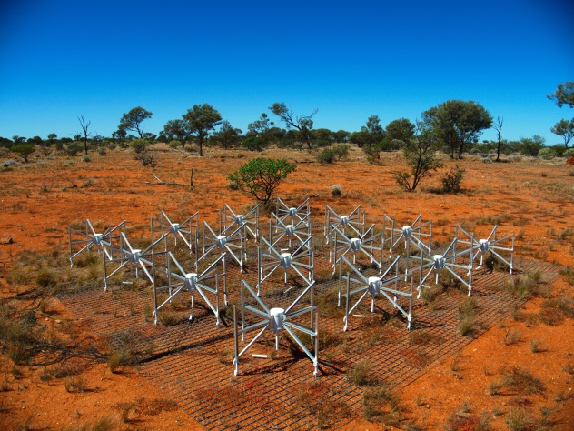 SKA Murchison Widefield Array, in Western Australia