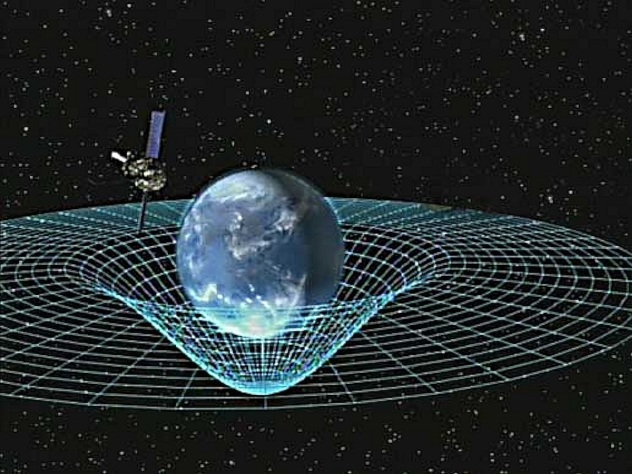 Spacetime with Gravity Probe B. NASA