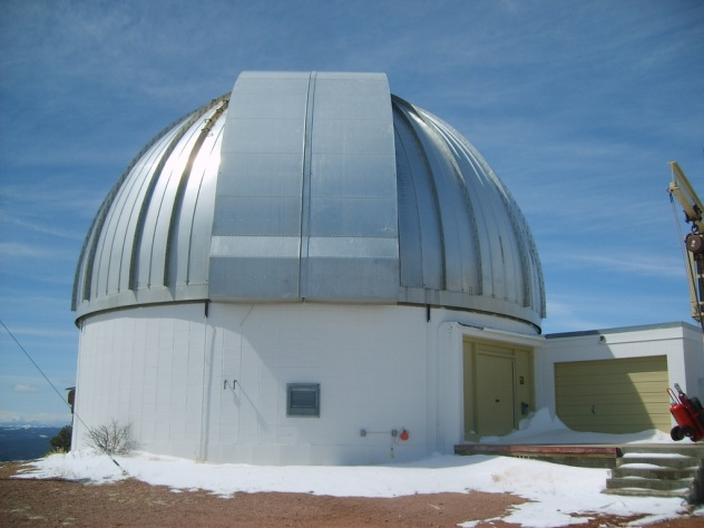 U Wyoming Infrared Observatory exterior