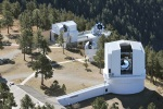 """<a href=""""http://www.apo.nmsu.edu/"""">Apache Point Observatory near Sunspot, New Mexico Altitude 2,788 meters (9,147ft).</a>"""