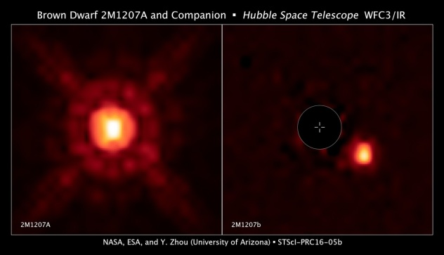 Brown Dwarf 2M1207A and companion 2M120B