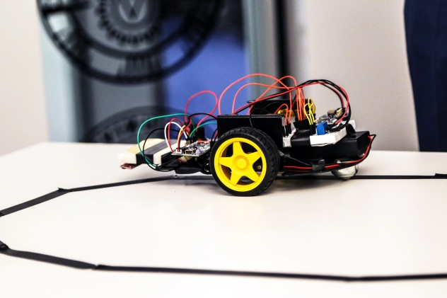 Cornell robot car