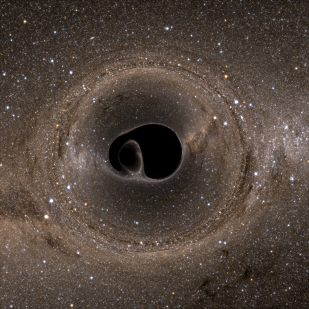 Cornell SXS team. Two merging black holes simulation