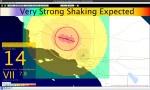 Earthquake early warning EEWUserDisplay