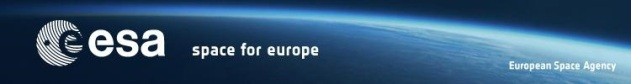 ESA Space For Europe Banner