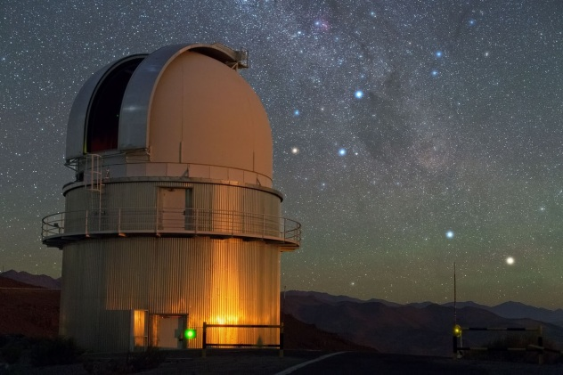 ESO Danish 1.54 meter telescope at La Silla