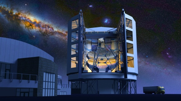 Giant Magellan Telescope, Las Campanas Observatory, to be built  some 115 km (71 mi) north-northeast of La Serena, Chile