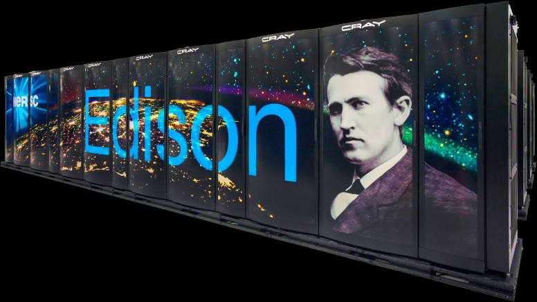 LBL NERSC Cray XC30 Edison supercomputer