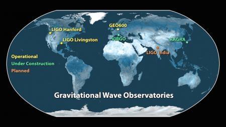 LIGO map