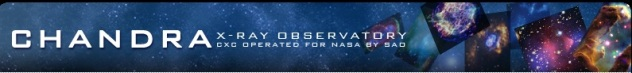 NASA Chandra Banner