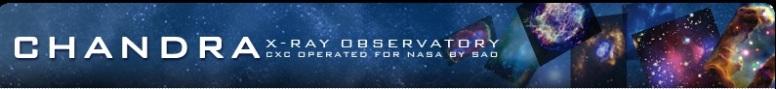 NASA Chandra Banner