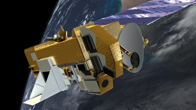 NASA Goddard Aura satellite