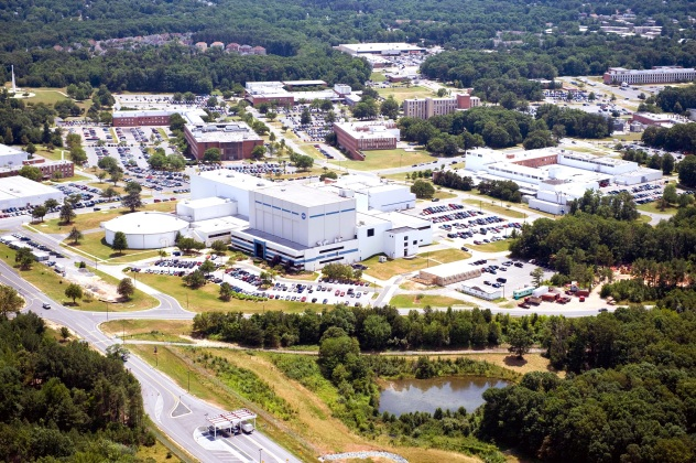 NASA Goddard campus