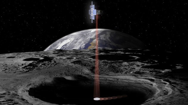NASA JPL Lunar Flashlight