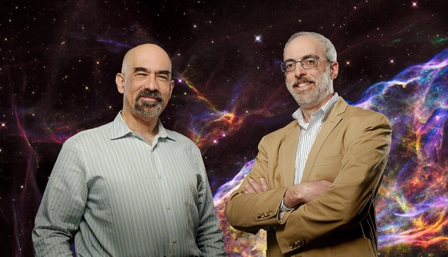 NASA WFIRST Princeton Spergal [L] and Kasdin [R]