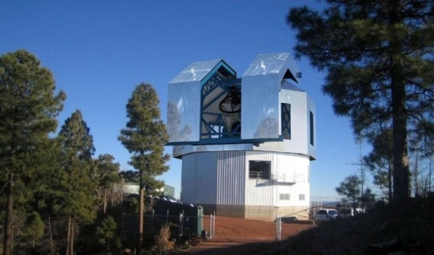 Discovery Channel Telescope at Happy Jack AZ