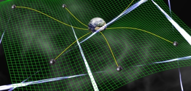 Network of pulsars could be used to search for the ripples in space-time.  David Champion NASA JPL