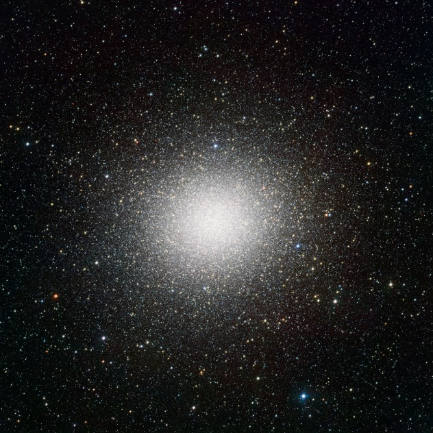 Omega Centauri globular cluster from WFI camera on 2.2 meter MPG/ ESO telescope at La Silla Observatory