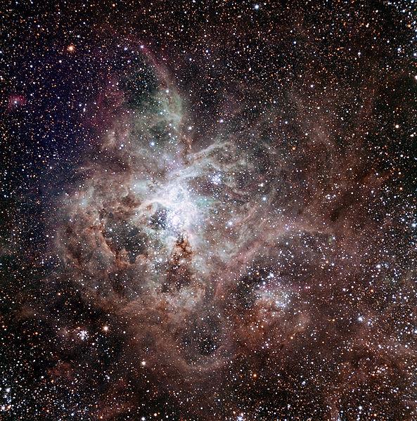 Tarantula Nebula.TRAPPIST national telescope at ESO La Silla