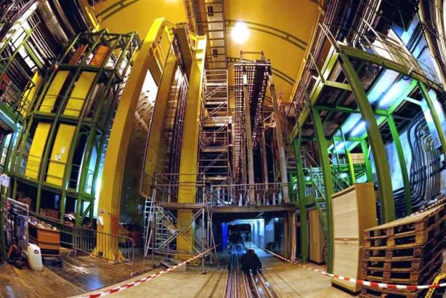 CERN LHC LHCb
