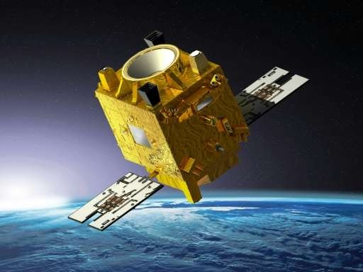 CNES Microscope satellite