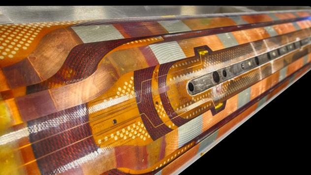Magnet built for LHC
