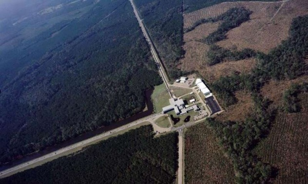 Caltech/MIT Advanced aLigo detector in Livingston, Louisiana