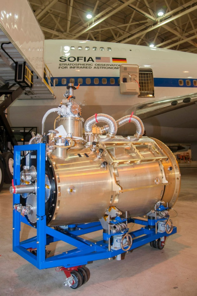 NASA SOFIA High-resolution Airborne Wideband Camera-Plus HAWC+ Camera
